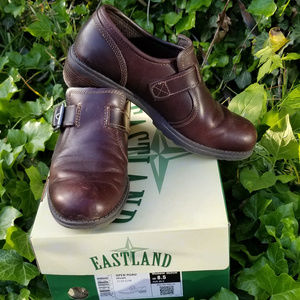 EASTLAND Open Road Brown leather Slip On 8.5M
